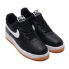NIKE AIR FORCE 1 '07 2 BLACK/WHITE-WOLF GREY-GUM MED BROWN CI0057-002画像