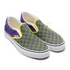 VANS CLASSIC SLIP-ON OTW RALLY GREEN/PURPLE/BLUE VN0A4BV3V9B画像