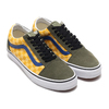 VANS OLD SKOOL OTW RALLY CHECKER/MULTI/DEEP LICHEN GREEN VN0A4BV5VZN画像