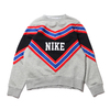 NIKE AS W NSW NSP CREW FLC DK GREY HEATHER/BLACK/WHITE/WHITE BV2921-063画像