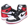 NIKE WMNS AIR JORDAN 1 HI OG SATIN black/black-white-varsity red CD0461-016画像