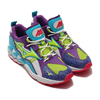 MIZUNO WAVE RIDER 1 WHITE/GREEN/PURPLE D1GA193337-37画像