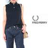 FRED PERRY 19aw Lady's #F5353 Sleeveless Pique Shirt画像