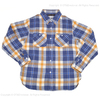 "FULLCOUNT ORIGINAL CHECK NEL SHIRTS ""SOUTHER"" 4021-1画像"