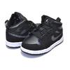NIKE JORDAN 1 MID SE(TD) black/anthracite-white BQ6933-012画像