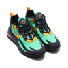 NIKE AIR MAX 270 REACT ELECTRO GREEN/YELLOW OCHRE-OBSIDIAN AO4971-300画像