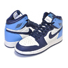 NIKE AIR JORDAN 1 HIGH OG GS sail/obsidian-university blu 575441-140画像