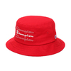 Champion × ATMOS LAB BUCKET HAT RED 387-0099画像