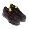NIKE W AIR VAPORMAX FLYKNIT 3 BLACK/BLACK-BLUE FURY-SONIC YELLOW AJ6910-009画像