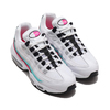 NIKE WMNS AIR MAX 95 WHITE/BLACK-AURORA GREEN-PINK BLAST 307960-117画像