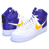 NIKE AIR FORCE 1 HIGH 07 LV8 1 NBA PACK white/field pur-amarillo BQ4591-101画像