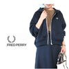 FRED PERRY Lady's F6293 Hooded Track Jacket画像