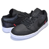NIKE AIR JORDAN 1 LOW PSG black/black-dark grey CK0687-001画像