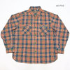 SUGAR CANE FICTION ROMANCE 5oz. LINING CHECK WORK SHIRT SC28285画像