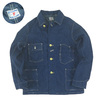 FULLCOUNT DENIM COVERALL JACKET ONE WASH 2953OW画像