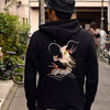 TAILOR TOYO スカフードパーカー JAPAN DRAGON TT68369画像