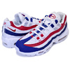 NIKE AIR MAX 95 INDEPENDENCE DAY white/gym red-deep royal blue CJ9926-100画像