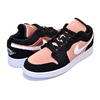NIKE AIR JORDAN 1 LOW(GS) black/white-rose gold 554723-090画像
