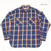SUGAR CANE TWILL CHECK L/S WORK SHIRT SC28234画像