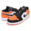 NIKE AIR JORDAN 1 LOW SHATTERED BACKBOARD white/black-starfish 553558-128画像