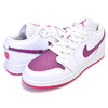 NIKE AIR JORDAN 1 LOW(GS) Valentines Day white/true berry-rush pink 554723-161画像
