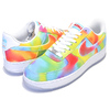 NIKE AIR FORCE 1 07 PRM TIE DYE CHICAGO white/multi-color CK0838-100画像