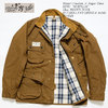"Mister Freedom × Sugar Cane ""SURPLUS"" 13oz.BROWN DUCK MULHOLLAND DRIZZLE-KING SC14524画像"