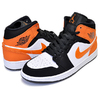NIKE AIR JORDAN 1 MID SHATTERED BACKBOARD black/starfish-starfish-white 554724-058画像