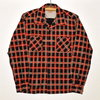 STYLE EYES PRINTED PLAID FLANNEL L/S SPORTS SHIRT SE28263画像