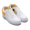 NIKE AF1-TYPE WHITE/UNIVERSITY GOLD-GOLD SUEDE AT7859-100画像