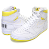 NIKE AIR JORDAN 1 HI OG FIRST CLASS white/black-dynamic yellow 555088-170画像
