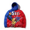 POLO RALPH LAUREN HWTHRNE JKT-DOWN FILL-JACKET RED MULTI画像