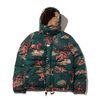 POLO RALPH LAUREN HWTHRNE JKT-DOWN FILL-JACKET GREEN PRINT画像