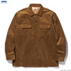 RADIALL MOTOWN - OPEN COLLARED SHIRT L/S (CAMEL)画像