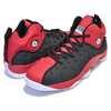 NIKE JORDAN JUMPMAN TEAM II black/black-university red 819175-006画像