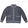 TROPHY CLOTHING SALT&PEPPER BUTTON SWEAT JACKE TR19AW-204画像
