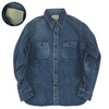 FULLCOUNT DENIM WORK SHIRTS HW 4890HW-19画像