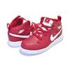 NIKE JORDAN 1 MID BT gym red/white-white 640735-600画像