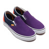 VANS CLASSIC SLIP ON GREEN/PURPLE/ORANGE VN0A4BV3TBZ画像