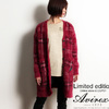 AVIREX SHAGGY KNIT LONG CARDIGAN 294014画像