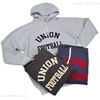 DUBBLE WORKS Lot 83004 RAGLAN SLEEVE SWEAT HOODIE UNION FOOTBALL画像