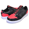 NIKE WMNS AIR JORDAN 1 RETRO LOW SLIP bright crimson/black-white AV3918-600画像