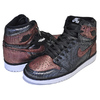 NIKE WMNS AIR JORDAN 1 HI OG FEARLESS black/black-metallic rose gold CU6690-006画像