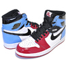 NIKE AIR JORDAN 1 RETRO HI OG FEARLESS white/black-university blue CK5666-100画像