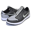 "NIKE WMNS AIR JORDAN 1 RETRO LOW SLIP SE ""SHADOW"" black/medium grey-white CQ0279-001画像"