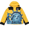 Supreme × THE NORTH FACE 19FW Statue of Liberty Mountain Jacket YELLOW画像