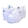 FILA DISRUPTOR 2 WEDGE WHITE/FNVY/FRED 5FM00704-125画像
