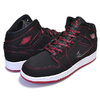 NIKE AIR JORDAN 1 MID FEARLESS(GS) black/gym red-white CU6617-062画像