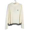 FRED PERRY Lady's F7177 Ribbed Knit Sweater画像