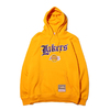 Mitchell & Ness Old English Hoodie LA.Lakers YELLOW FPHDEF18019-LAL画像